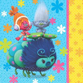 Trolls Luncheon Napkins (16 Count)