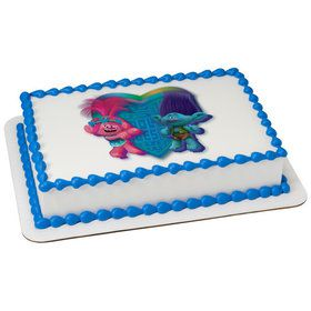 Trolls Quarter Sheet Edible Cake Topper (Each)