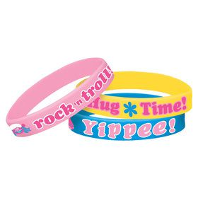 Trolls Rubber Wristbands (6)