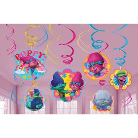 Trolls Swirl Decorations (12)