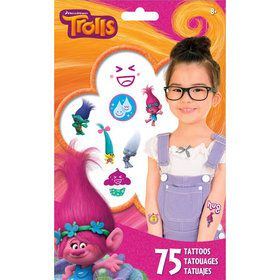 Trolls Tattoos (75 Count)