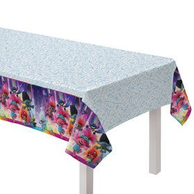 Trolls World Tour Plastic Table Cover