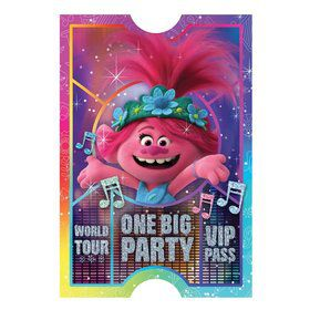 Trolls World Tour Postcard Invitations (8)