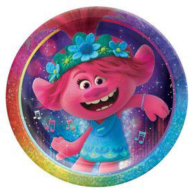 Trolls World Tour Prismatic Lunch Plates (8)
