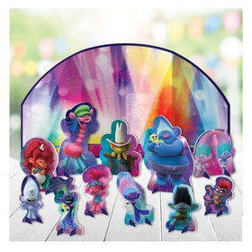 Trolls World Tour Table Decoration Kit