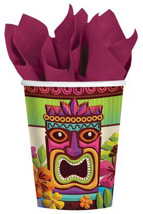 Tropical Tiki Cups (50)