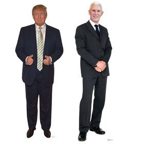 Trump Pence Stand Ups