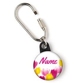 "Tulips Personalized 1"" Carabiner (Each)"