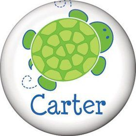 Turtle Party Personalized Mini Magnet (each)