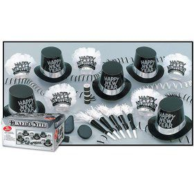 Tuxedo Nite New Year's Party Kit (For 10 People)