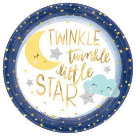 "Twinkle Little Star 10.5"" Dinner Plate (8)"