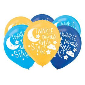 Twinkle Little Star Latex Balloons (15)