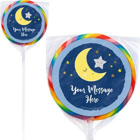 "Twinkle Little Star Personalized 3"" Lollipops (12 Pack)"