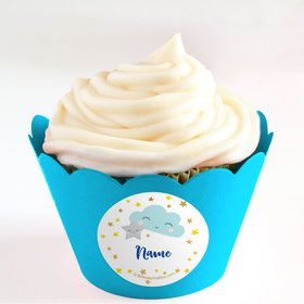 Twinkle Little Star Personalized Cupcake Wrappers (Set of 24)