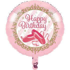 "Twinkle Toes 18"" Metallic Balloon (1)"