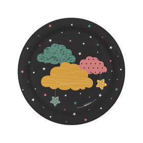 "Twinkle Twinkle How We Wonder 7"" Dessert Plates (8)"