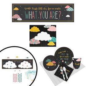Twinkle Twinkle How We Wonder Gender Reveal All Inclusive Party Kit