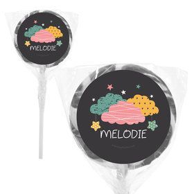 "Twinkle Twinkle How We Wonder Gender Reveal Personalized 2"" Lollipops (20 Pack)"
