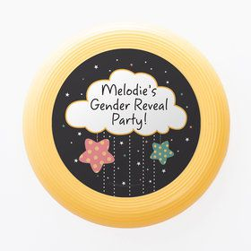 Twinkle Twinkle How We Wonder Gender Reveal Personalized Mini Discs (Set of 12)
