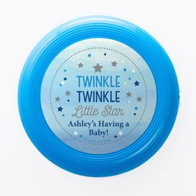 Twinkle Twinkle Little Star Blue Personalized Mini Discs (Set of 12)
