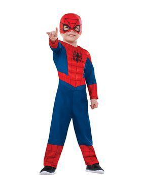 Toddler Ultimate Spiderman Toddler Costu