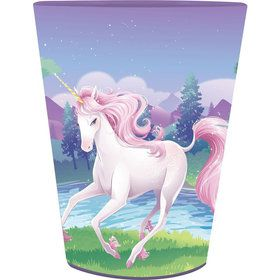 Unicorn Fantasy 16oz Plastic Favor Cup (Each)
