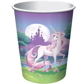 Unicorn Fantasy 9oz Cups (8 Pack)
