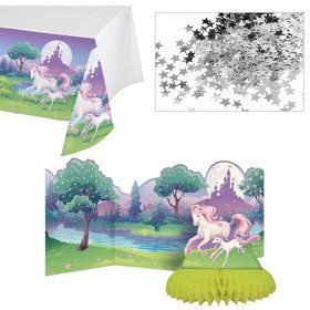 Unicorn Fantasy Table Decroation Kit