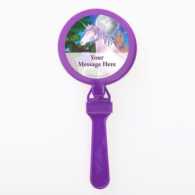 Unicorn Fun Personalized Clappers (Set of 12)