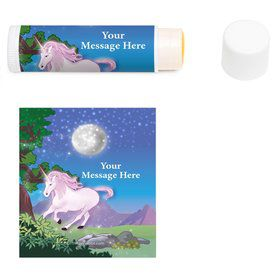 Unicorn Fun Personalized Lip Balm (12 Pack)