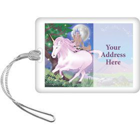 Unicorn Fun Personalized Luggage Tag (Each)
