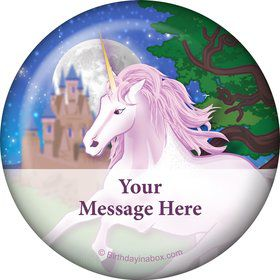 Unicorn Fun Personalized Magnet (Each)