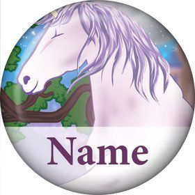Unicorn Fun Personalized Mini Magnet (Each)