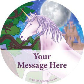 Unicorn Fun Personalized Stickers (Sheet of 12)