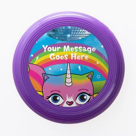 Unicorn Kitty Personalized Mini Discs (Set of 12)