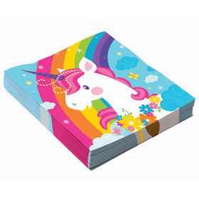 Unicorn Luncheon Napkins (16)