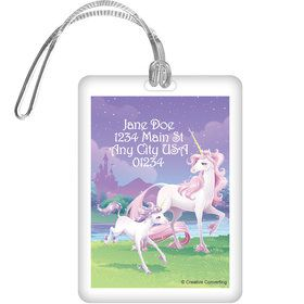 Unicorn Personalized Luggage Tag (Each)
