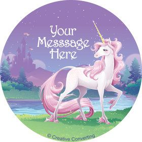 Unicorn Personalized Stickers (Sheet of 12)