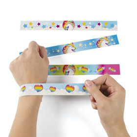 Unicorn Slap Bracelets (12)