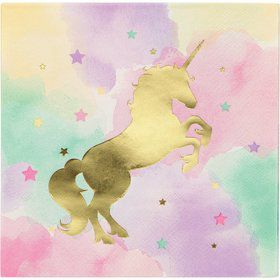Unicorn Sparkle Lunch Napkin (16)