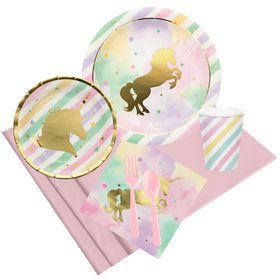 Unicorn Sparkle Party Pack for 8