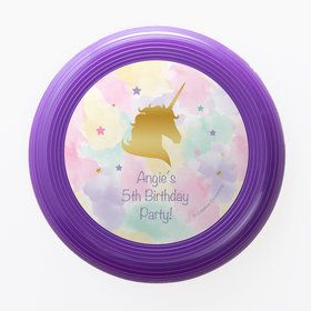 Unicorn Sparkle Personalized Mini Discs (Set of 12)