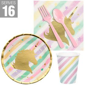 Unicorn Sparkle Snack Pack for 16
