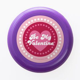 Valentine Hearts Personalized Mini Discs (Set of 12)