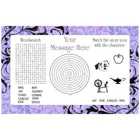 Vampire Dawn Personalized Activity Mat (8 pack)