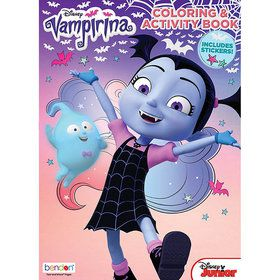 Vampirina Activity Book with Stickers (1)