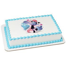 Vampirina-Fantastical Friends! Quarter Sheet Edible Cake Topper (Each)