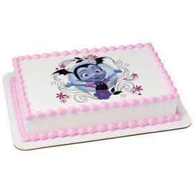 Vampirina-Sweet As Can Vee Quarter Sheet Edible Cake Topper (Each)