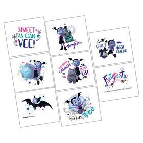 Vampirina Tattoo Sheet (1)