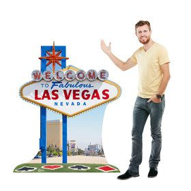 Vegas Sign Standup